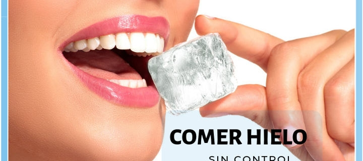 comer hielo continuamente