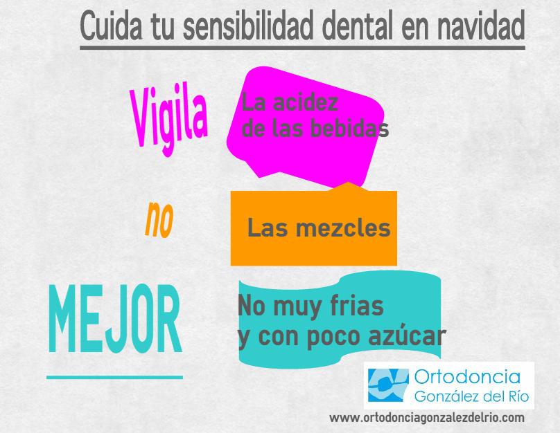 consejos de sensibilidad dental navideño