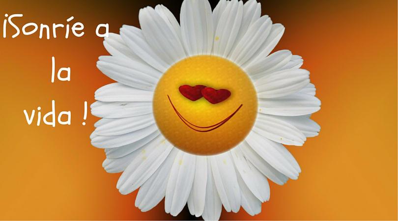 sonreir a la vida