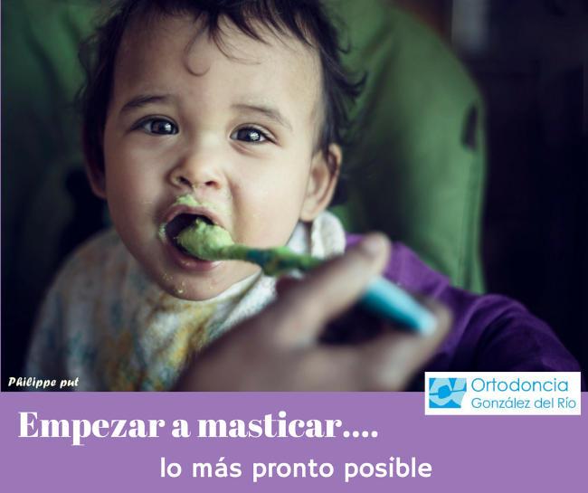 masticar -apiñamiento dental
