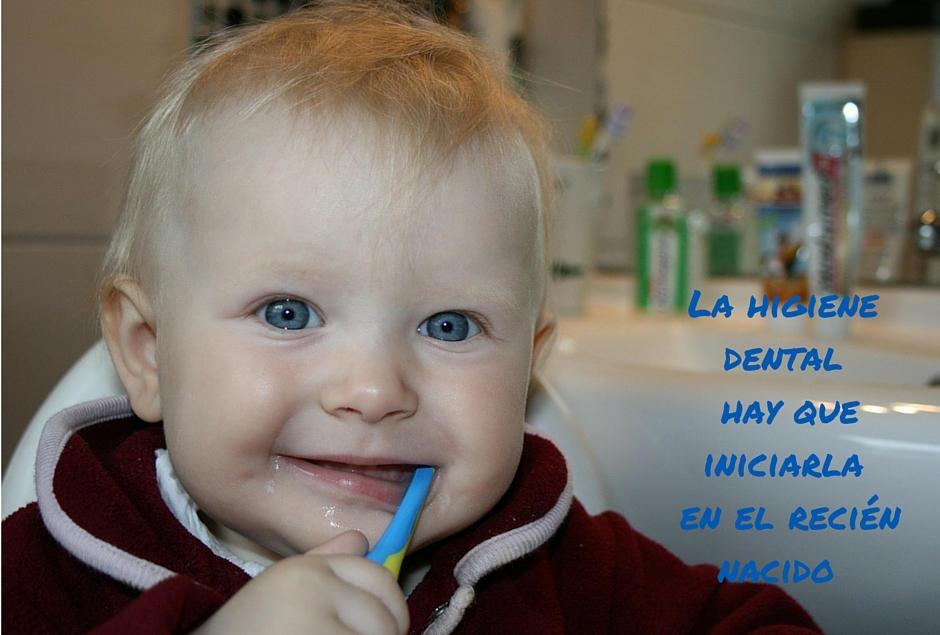 higiene dental desde el nacimiento