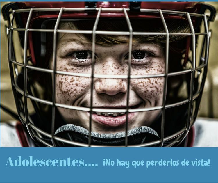 adolescente y deporte y salud bucal