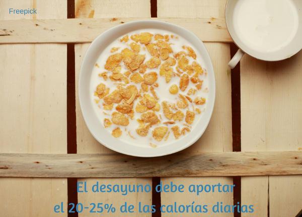 desayunar en casa en la vuelta al cole
