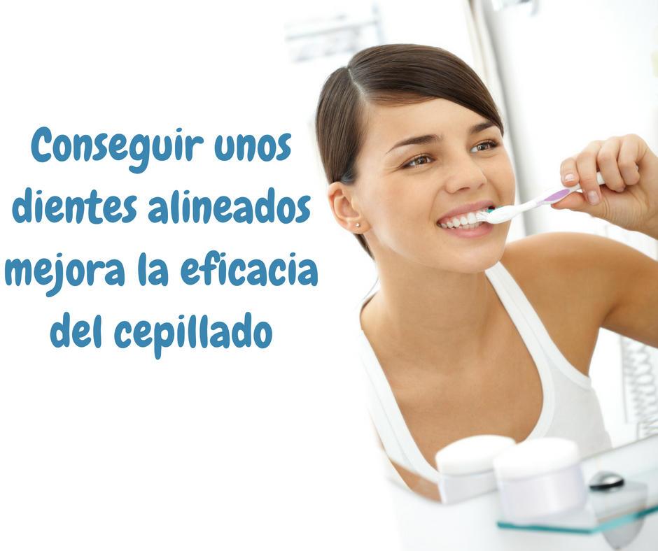 cepillado y beneficios de la ortodoncia