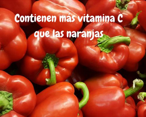 pimientos y vitamina c
