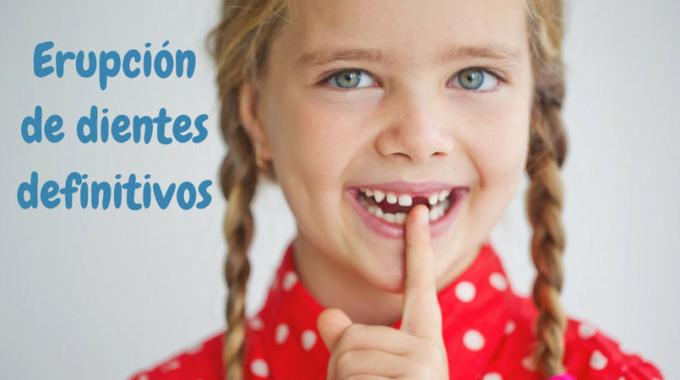 Erupción de los dientes definitivos : 6 dudas que te puedes evitar