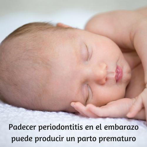 Periodontitis y repercusión en la salud bucal de tu bebe