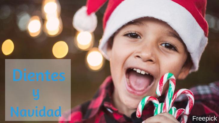 Salud bucal se los niños en navidad